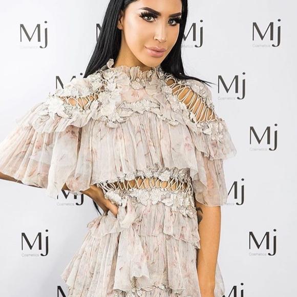 371154aca039 Zimmermann Dresses | Stranded Tier Floral Mini Dress | Poshmark